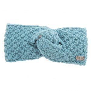 Aqua Moss Yarn Headband