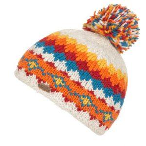 Oatmeal Bobble Hat