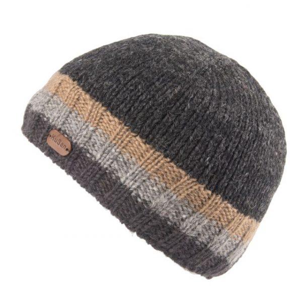 Charcoal Grey Hi Rib Pull On Hat