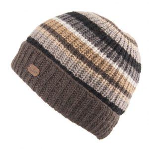 Charcoal Cardi Turn Up Hat