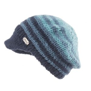 Blue Moss Yarn Peak Beret