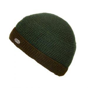 Green Crochet Turn Up