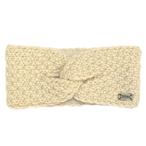 Oatmeal Moss Yarn Headband